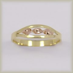 Prsten celozlatý 221 427