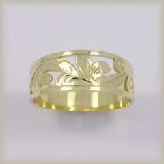 Prsten celozlatý 221 485