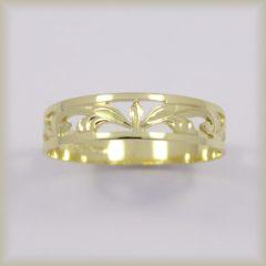 Prsten celozlatý 221 487