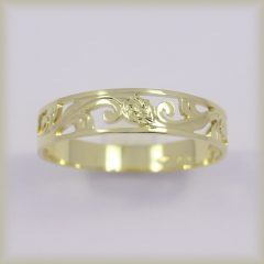 Prsten celozlatý 221 488