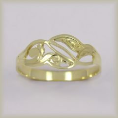 Prsten celozlatý 221 489
