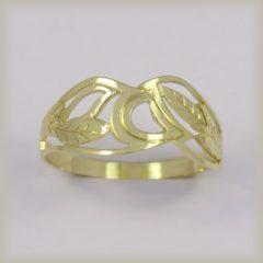 Prsten celozlatý 221 521