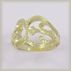 Prsten celozlatý 221 529