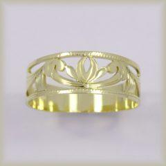 Prsten celozlatý 221 530