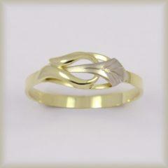 Prsten celozlatý 221 557