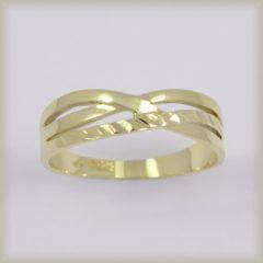 Prsten celozlatý 221 561