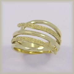 Prsten celozlatý 221 562