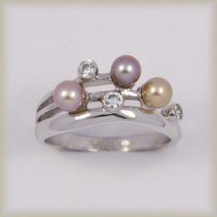 Prsten perlový 225 102